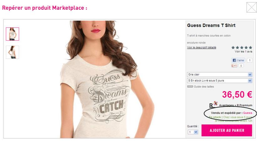 marketplace la redoute
