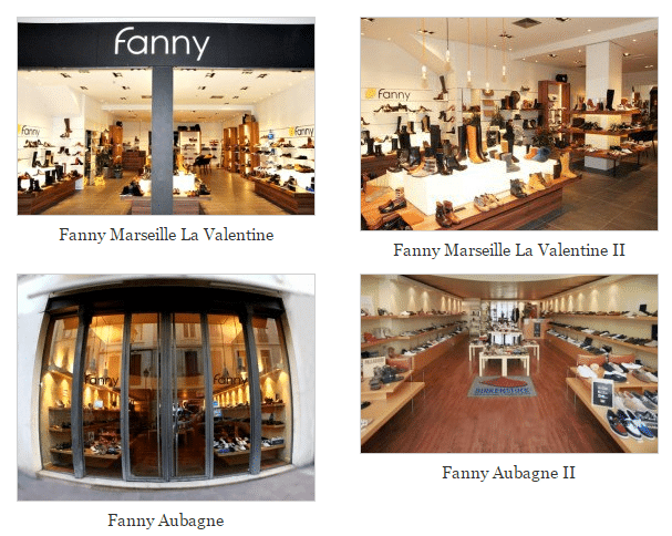 magasins Fanny Chaussures