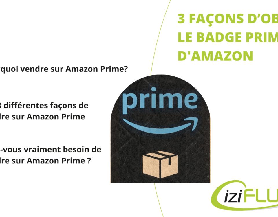 Article vendre sur Amazon Prime