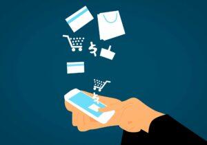 La technologie et la vente en ligne